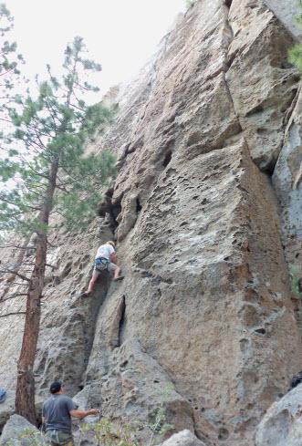 Mammoth Lakes Climbing