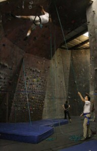 Indoor Rock Climbing Gym